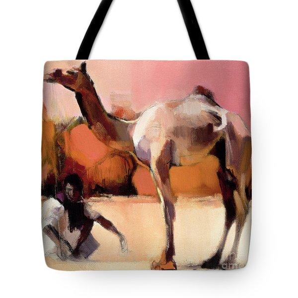 dsu and Said - Rann of Kutch  Tote Bag by Mark Adlington
