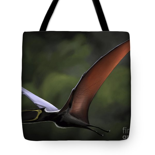 Dsungaripterus With Wings Spread Tote Bag