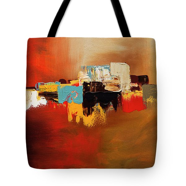 Tote Bag featuring the painting Du Soleil by Carmen Guedez