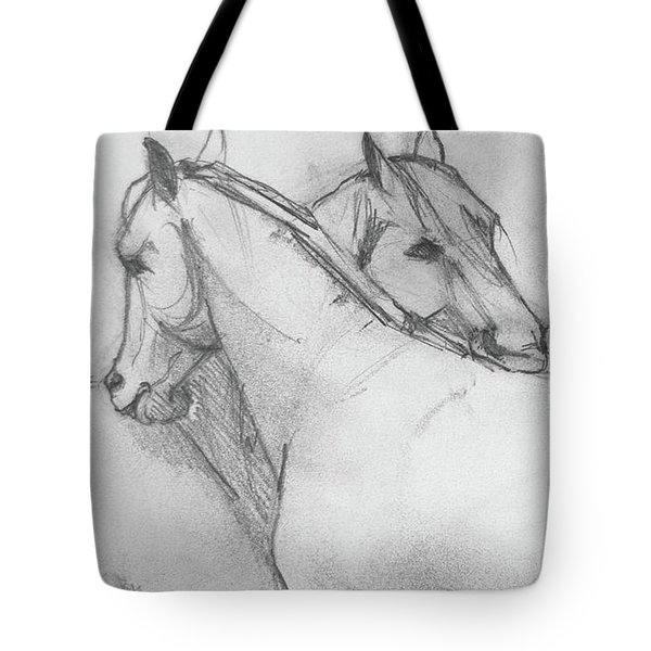 Dual Massage Sketch Tote Bag