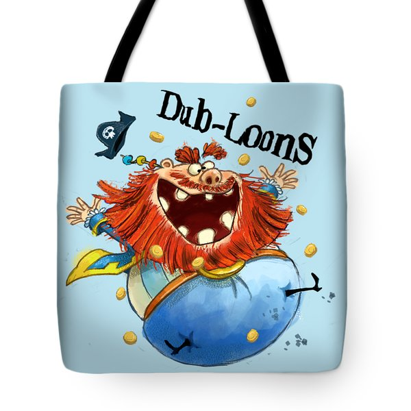 Dub-loons Tote Bag by Andy Catling