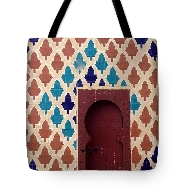 Dubai Doorway Tote Bag