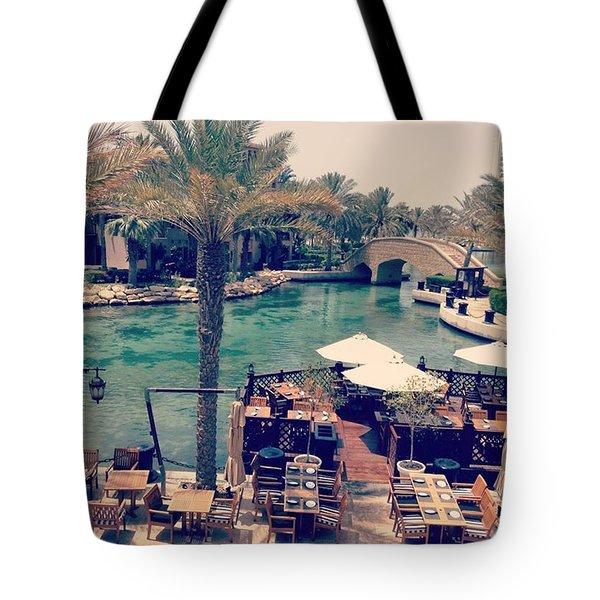 #dubai #uae Is Just #paradise Tote Bag