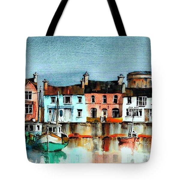 Dublin ... Skerries Harbour Tote Bag