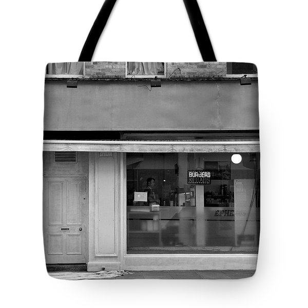 Tote Bag featuring the photograph Dublin Abbey Street by Steven Richman