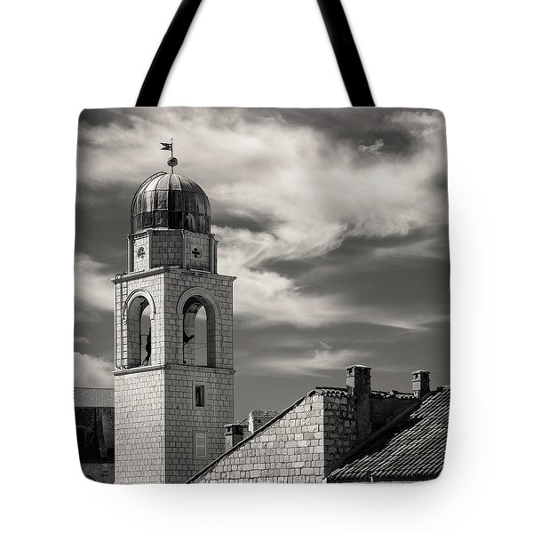 Dubrovnik Bell Tower Tote Bag