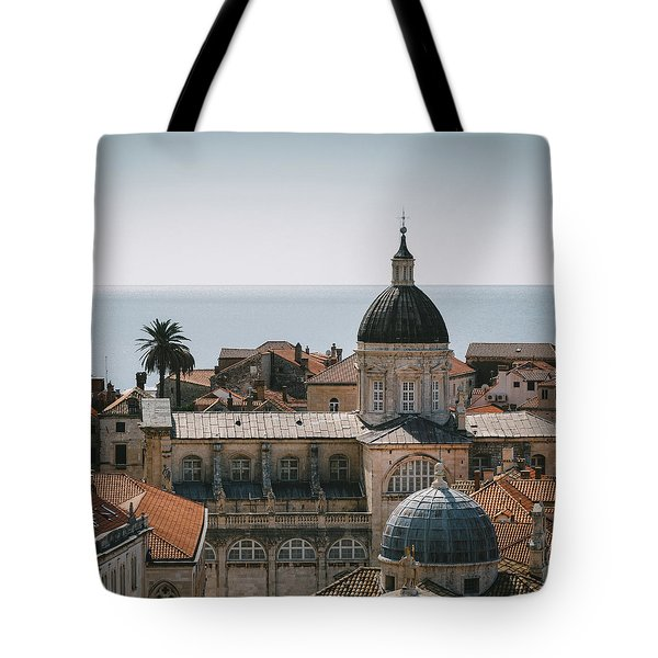 Dubrovnik Cathedral Skyline Tote Bag