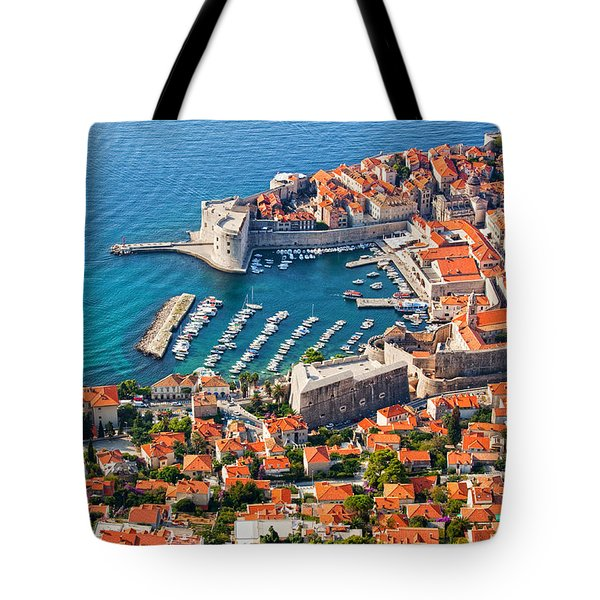 Dubrovnik From Above Tote Bag