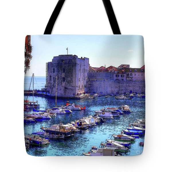 Dubrovnik Harbour Tote Bag