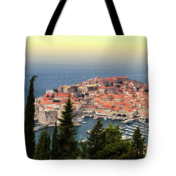 Dubrovnik Old City On The Adriatic Sea, South Dalmatia Region, C Tote Bag