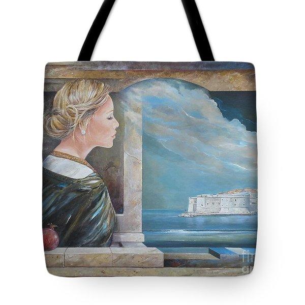 Dubrovnik On My Mind Tote Bag