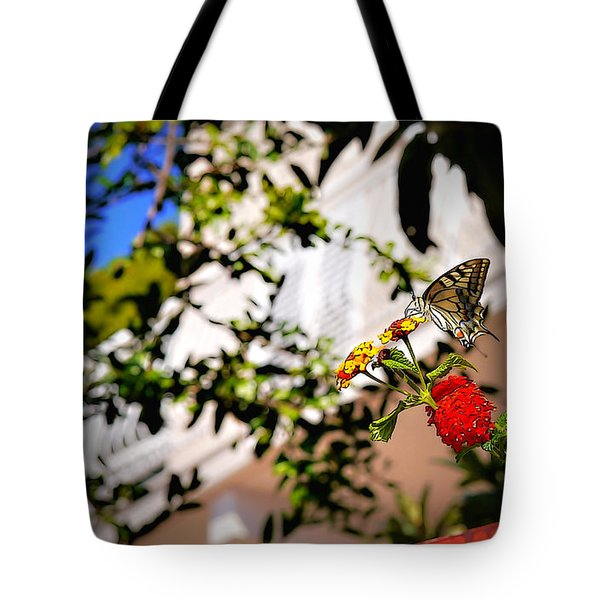Dubrovniks Butterfly Tote Bag