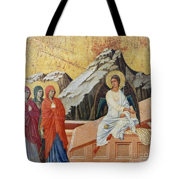 Duccio - Three Marys Tote Bag by Granger