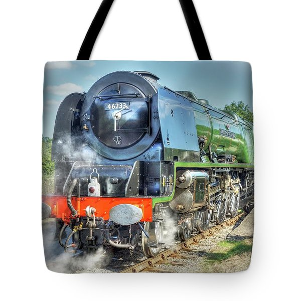 Tote Bag featuring the photograph Duchess At Butterley Station by David Birchall