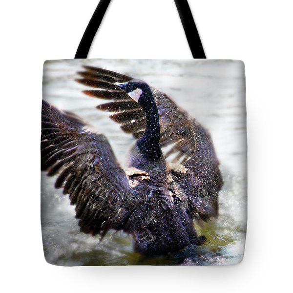 Duck Conductor Tote Bag