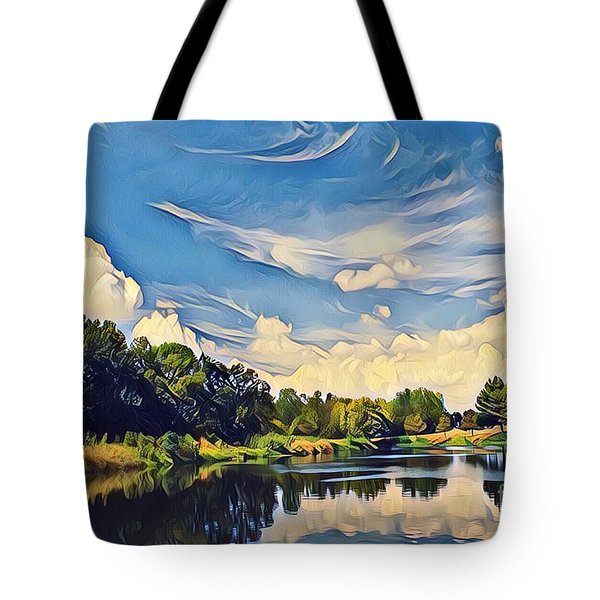 Duck Creek Tote Bag