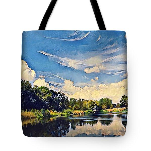 Duck Creek Tote Bag