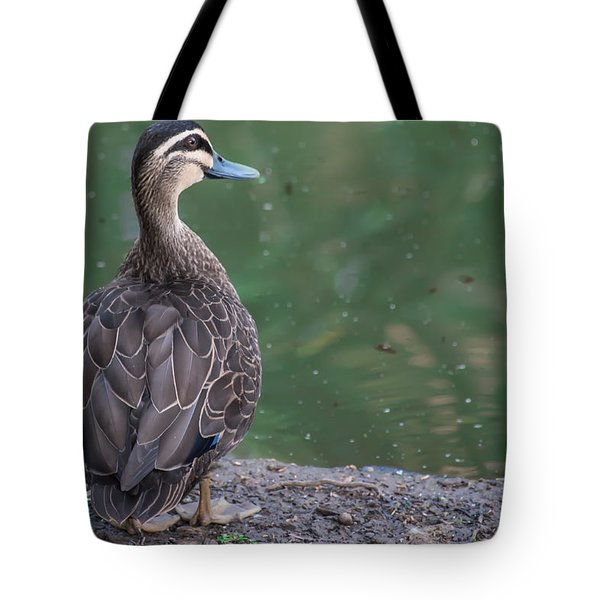 Duck Look Tote Bag