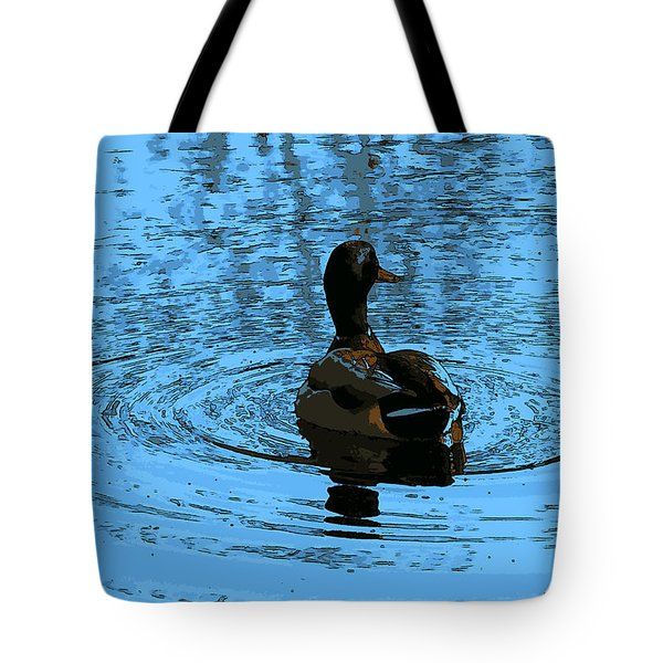 Duck Looking To The Right Tote Bag