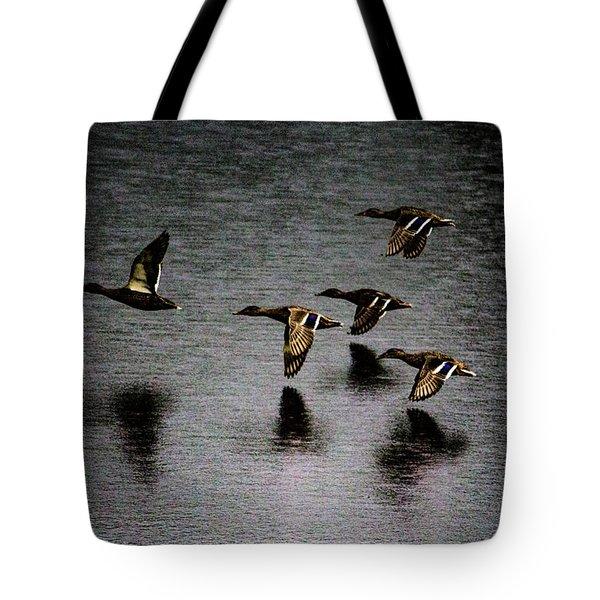 Duck Squadron Tote Bag