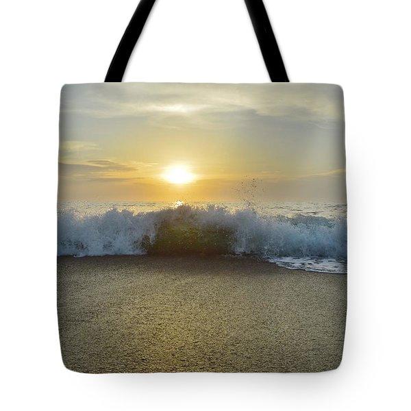 Duck Sunrise Tote Bag