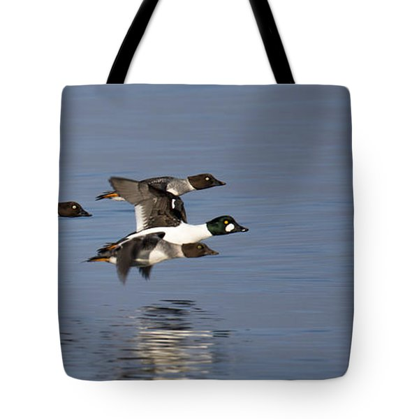 Duckin Out Tote Bag
