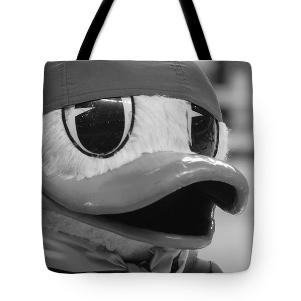 Ducking Around Tote Bag