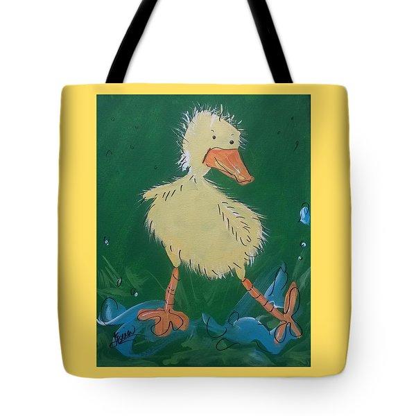 Duckling 3 Tote Bag by Terri Einer