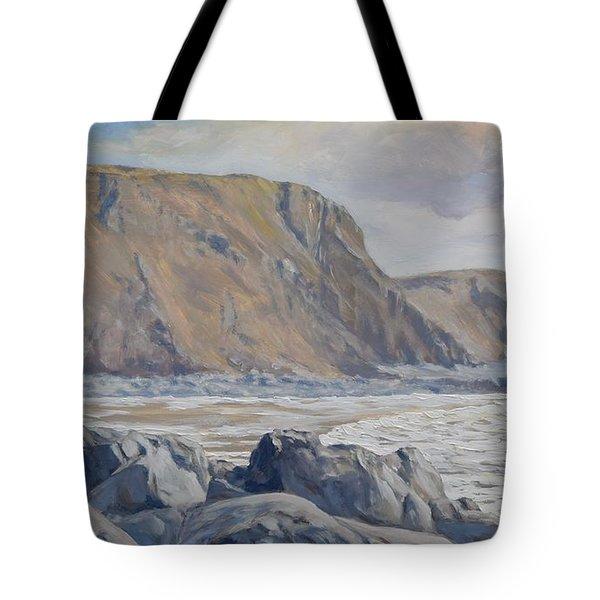 Duckpool Boulders Tote Bag