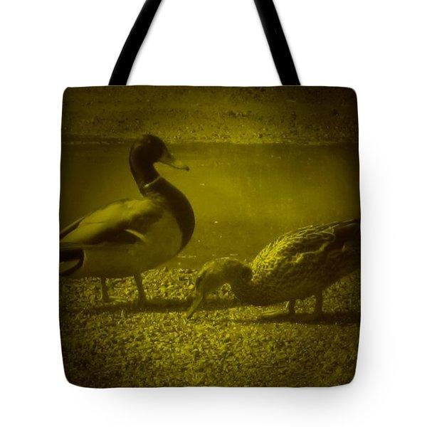 Ducks #3 Tote Bag