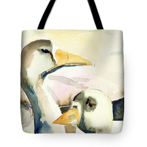 Ducks And Geese Tote Bag