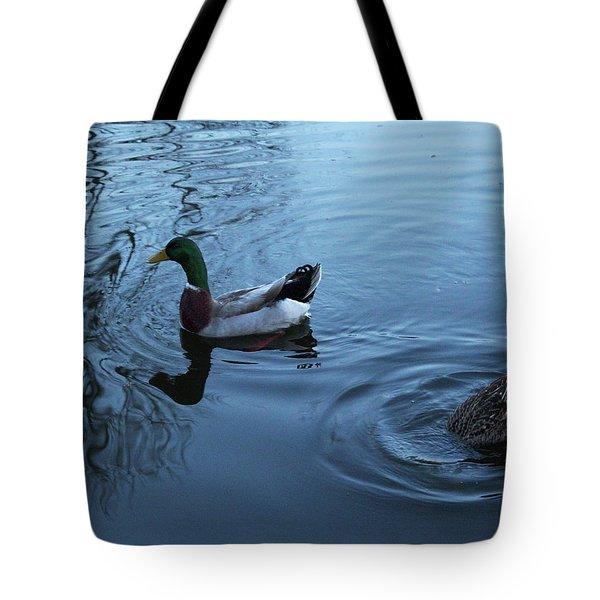Mallard Duck Tote Bag