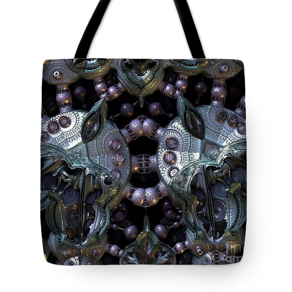 Dude This Stuff Is Weird Tote Bag by Michelle H