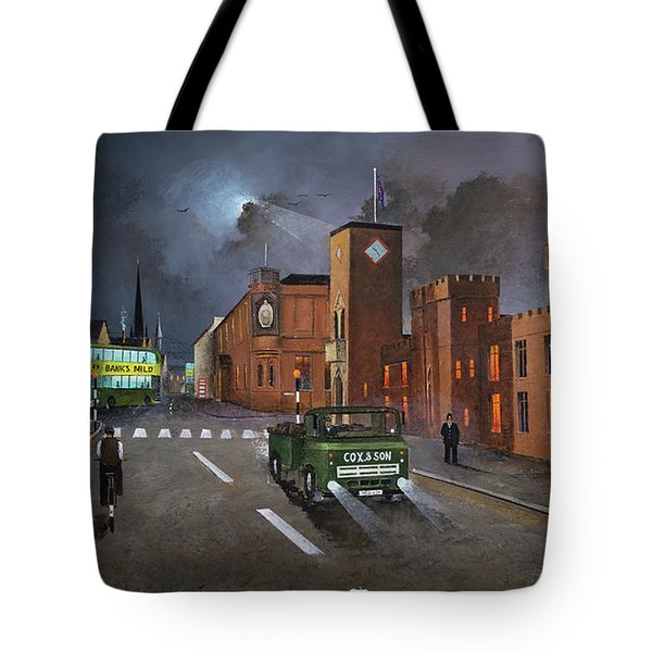 Dudley, Capital Of The Black Country Tote Bag