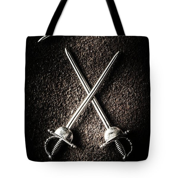 Duel To The Death Tote Bag