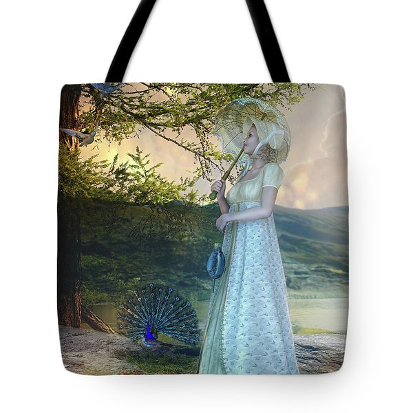 Duet Tote Bag by Mary Hood