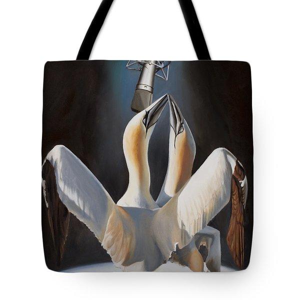 Duet Tote Bag by Loretta McNair