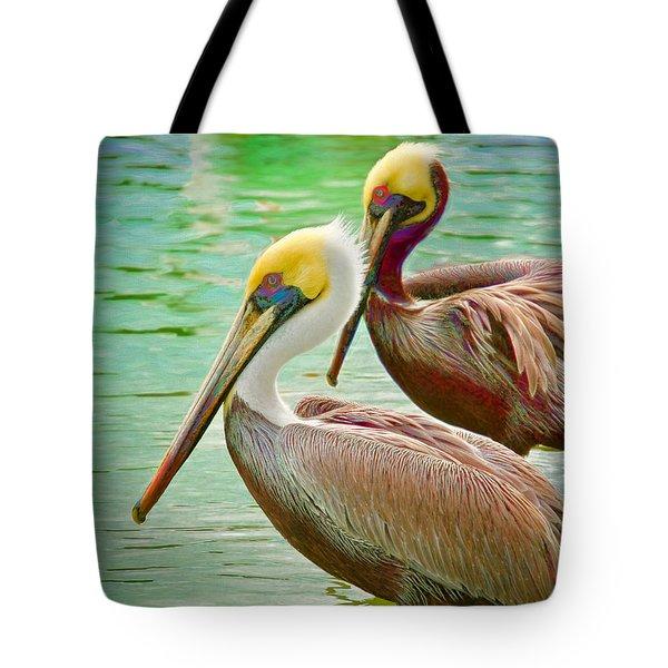 Duets Tote Bag