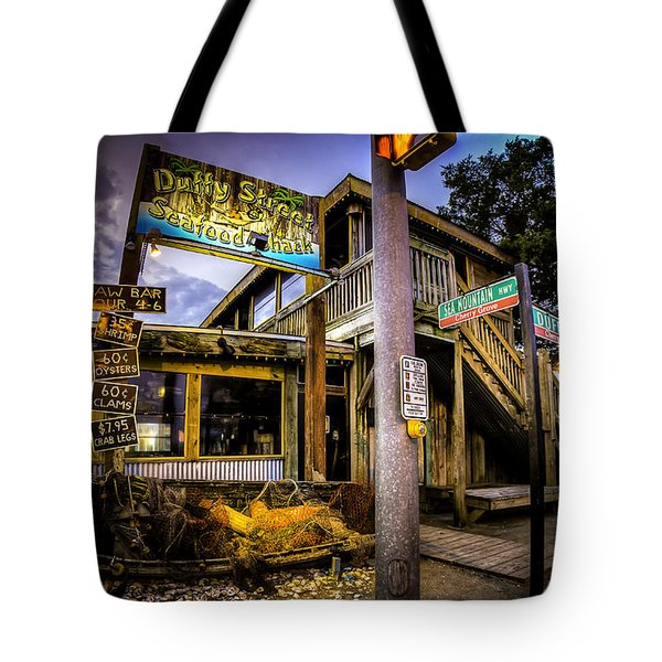 Duffy Street Seafood Shack Tote Bag