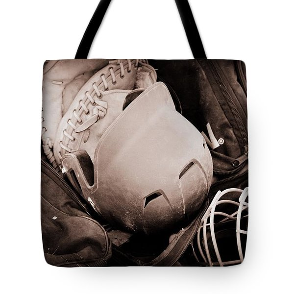 Dug Out Bug Out Tote Bag