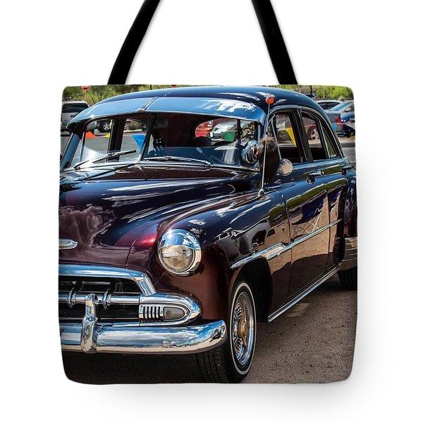 Old Classic Automobile Tote Bag