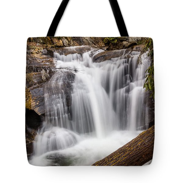 Dukes Creek Falls Tote Bag by Michael Sussman