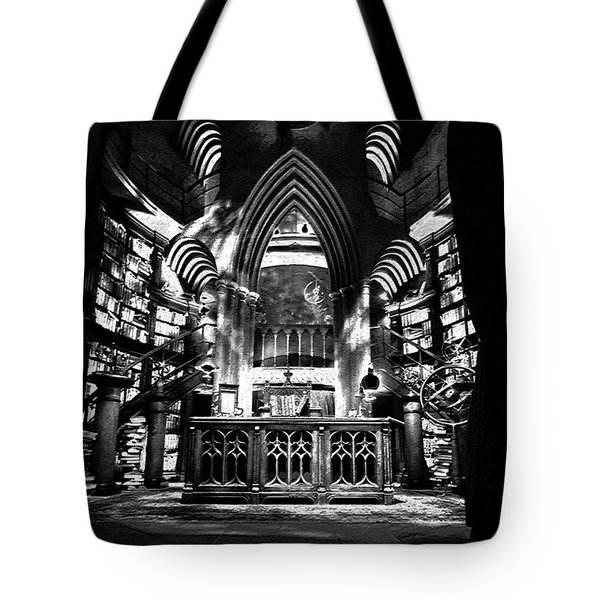 Dumbledores Study Tote Bag by David Lee Thompson