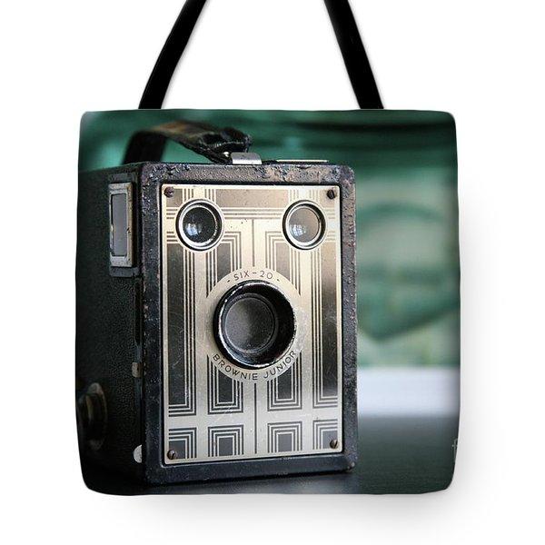 D'un Autre Temps...vintage Art Deco Brownie  Tote Bag