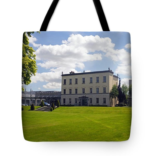 Dunboyne Castle Hotel Tote Bag by Cindy Murphy - NightVisions