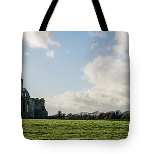 Dunbrody Abbey Tote Bag by Martina Fagan