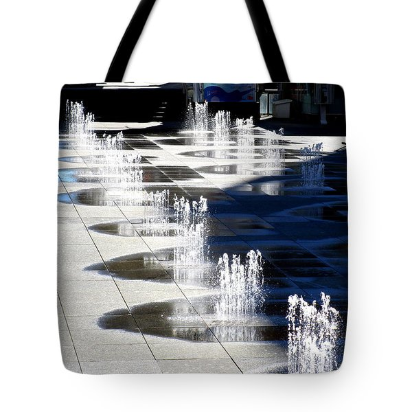 Dundas Square 1 Tote Bag by Randall Weidner