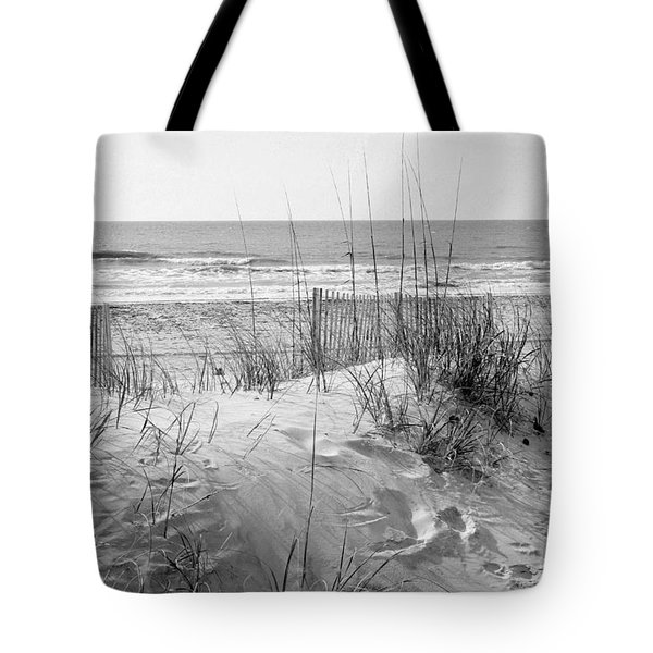 Dune - Black And White Tote Bag