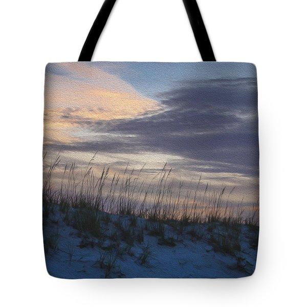 Dune Grass Blue Tote Bag
