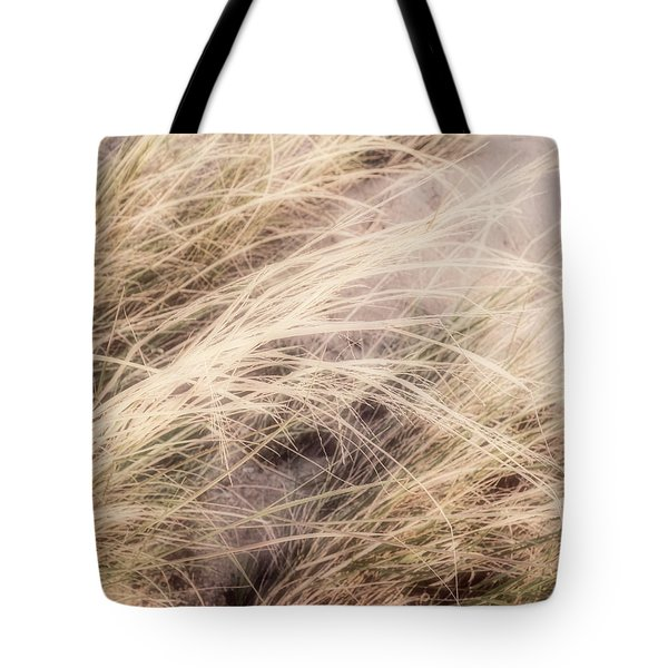 Tote Bag featuring the photograph Dune Grass Nature Photography by Ann Powell